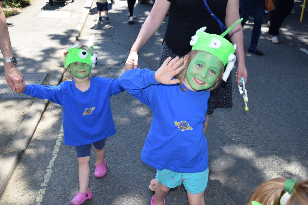 Thank you to all the staff and parents for all their efforts to prepare the costumes u2013 our Toy Story aliens all looked fabulous if a little sweaty!  sc 1 st  Peter Pan Playschool & Bookham Village Day Parade Winners! u2013 Peter Pan Playschool